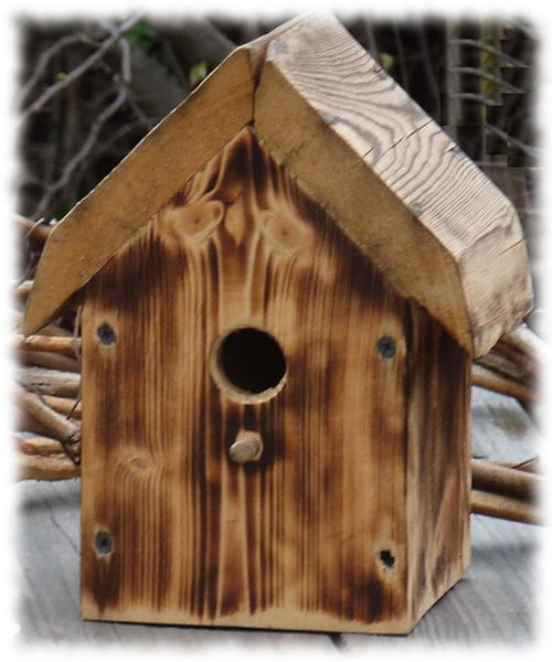 Домики для птиц своими руками