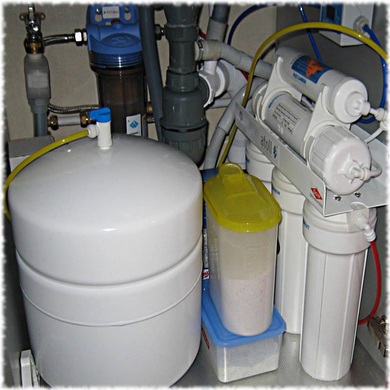 Фильтр-система очистки воды