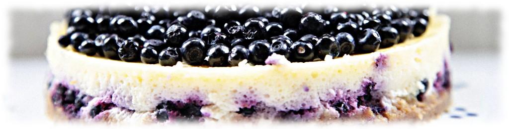 Домашний пирог с черникой