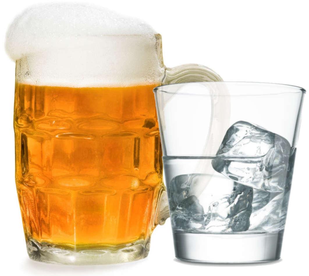 Водка с пивом -ёрш