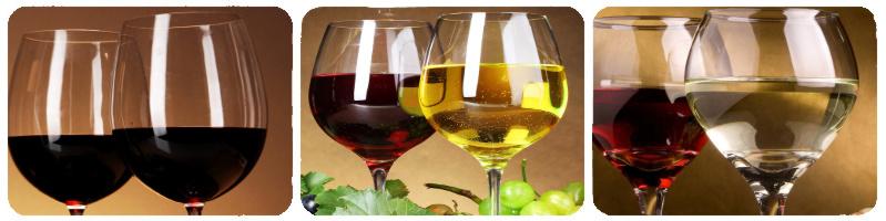 Бокалы вина на ru-dachniki.ru...