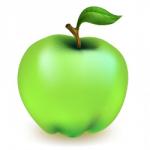 Просто яблоко