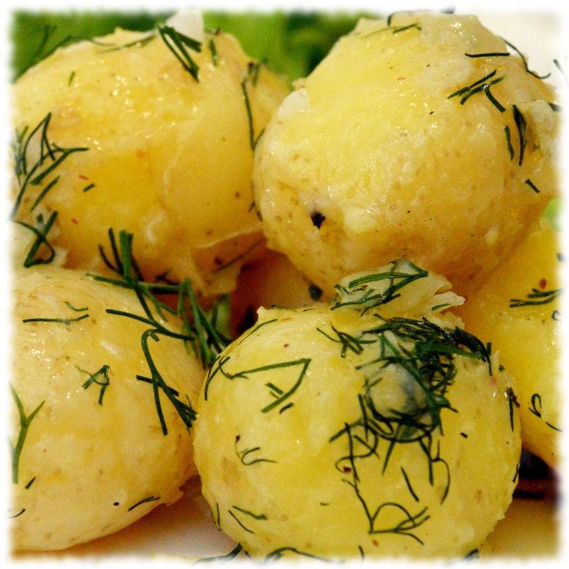 Рассыпчатый картофель