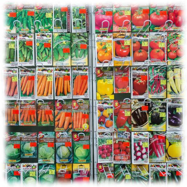 Качественные семена овощей